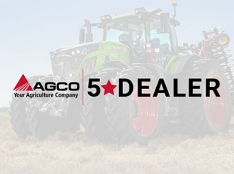 Lindstrom Selected as AGCO Five Star Dealer