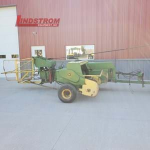 USED 1979 JOHN DEERE BALER WITH THROWER  BA5025
