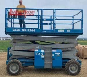 USED 2005 GENIE GS-3384RT SCISSOR LIFT   MS3459