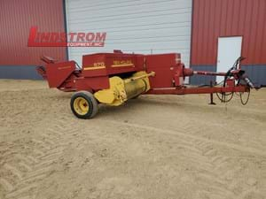 USED NEW HOLLAND 570 KICKER BALER WITH THROWER  BA4800