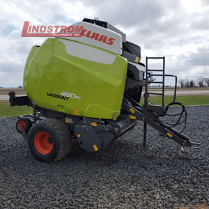 NEW 2020 CLAAS 480RC ROUND BALER  RB3790