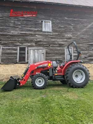 NEW 2020 MASSEY FERGUSON 2850MH COMPACT TRACTOR   TR4878